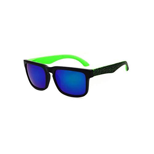 Sport-Sonnenbrillen, Vintage Sonnenbrillen, Brand Designer Sunglasses Men Women Sun Glasses Oculos De Sol UV400 Coating Square Spied For Men Rectangle Sport Eyewear Multi Black