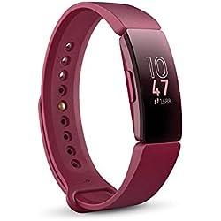 Fitbit Inspire, Bracelet pour la forme au quotidien, Sangria