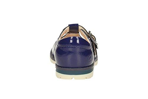 Clarks , sandales fille azul marino (Navy Patent)