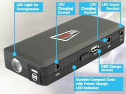 KFZ 12V 400AMP 14000mAh Notfall Jumpstarter & Portable Powerbank