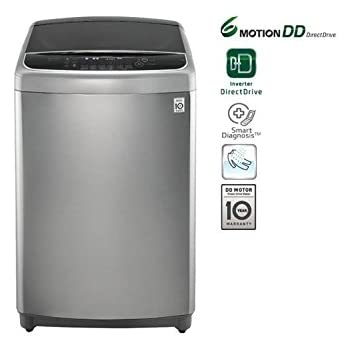 Lg Electronics 10Kg 6 Motion Direct Drive With Heater Top Load Washing Machine T1064Hfes5