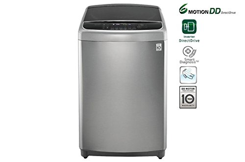 LG 10KG 6 MOTION DIRECT DRIVE WITH HEATER TOP LOAD WASHING MACHINE T1064HFES5