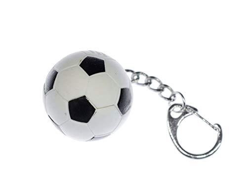 Miniblings Fußball Schlüsselanhänger Anhänger Fußball Ball EM WM Sport Gummi