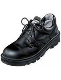 Uvex 8457.9–12Clyde cordones zapatos de seguridad con Hydroflex 3d plantilla de espuma, S2, UE 47, tamaño 12, color negro