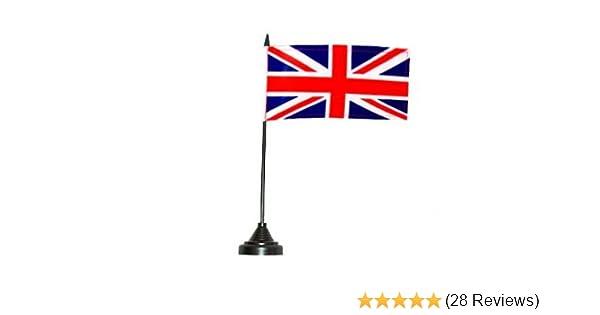 MadAboutFlags Tischflagge Tischfahne Gro/ßbritannien 10cm x 15cm