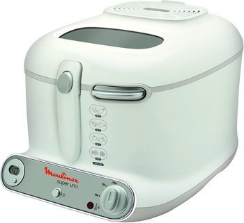 Moulinex AM3021 Super Uno Fritteuse weiss