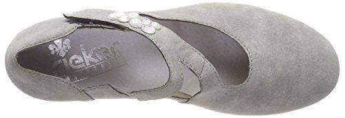 Rieker 41784, Chaussures Pour Femmes À Talon Gris (ciment)