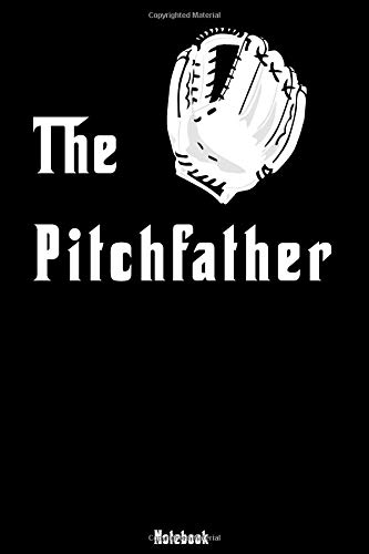 The Pitchfather: Notebook | college book | diary | journal | booklet | memo | composition book | 110 sheets - ruled paper 6x9 inch