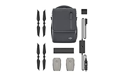 Ocamo Fly More Kit Accessories Batteries Charger Propellers Shoulder Bag for DJI Mavic 2 Pro/Zoom Drone