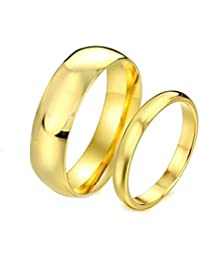 Sparkle Enterprise Forever Love Gold Plated Never Fading Proposal Couple Rings for Girls and Boys