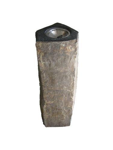 Standaschenbecher aus Naturstein Farbe basalt
