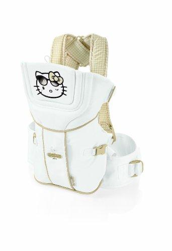 Brevi 014KH Hello Kitty 456 Diva Marsupio Koala 2.0, Bianco e Oro