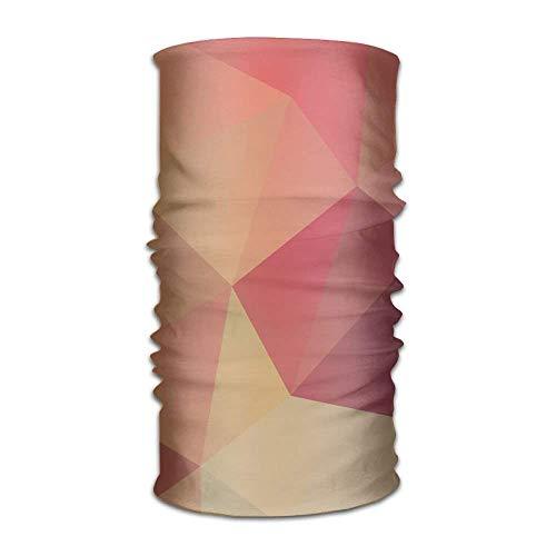 Bikofhd Colored Diamond Scarf Headbands Bandana Mask Neck Gaiter Sweatband New18