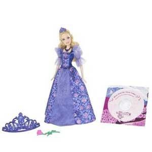 BARBIE als Prinzessin mit Musik-CD -