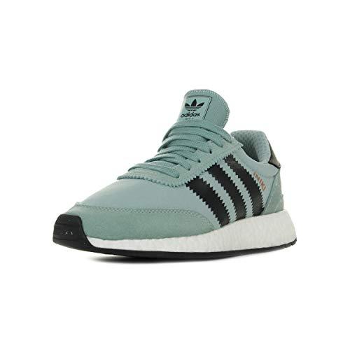 promo code dea90 1cb64 adidas Iniki Runner W, Chaussures de Sport Femme - Vert - Vert (Vertac