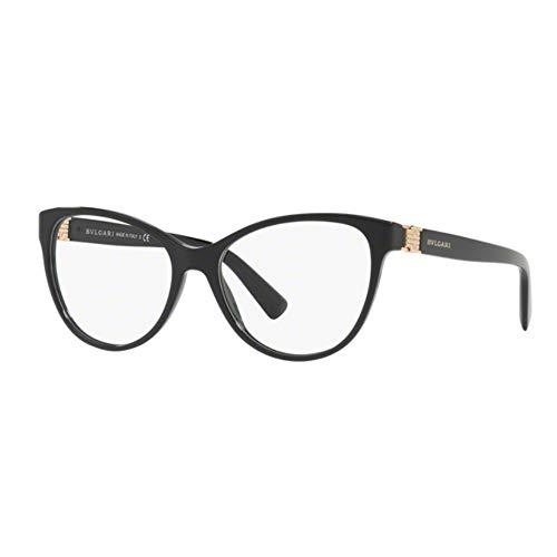 Bulgari Damen 0BV 4151 501 54 Sonnenbrille, Schwarz (Black),