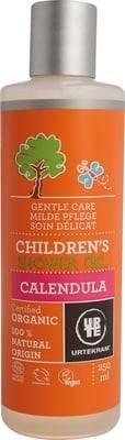 URTEKRAM - Gel Douche Enfants au Calendula - Soin nettoyant doux pour les peaux délicates - Nettoie en douceur - Hydrate - Vegan -250 ml
