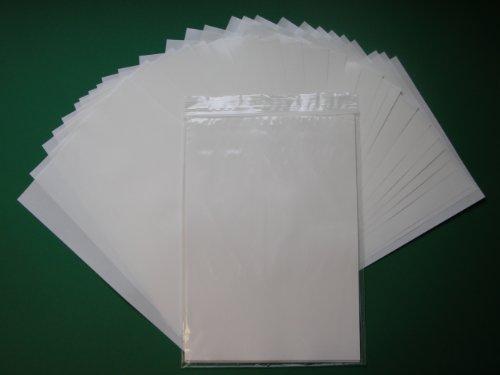 Trenn- und Silikonpapier, 135 g/m², weiß, DIN A4, 50 Bögen