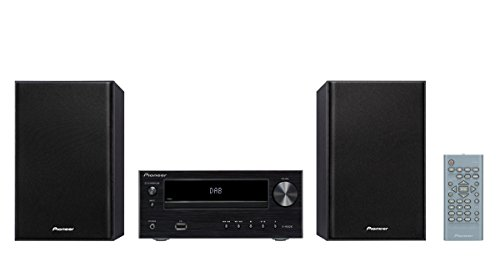 Pioneer X-HM 26 D-B CD Receiver System (15W pro Kanal, Bluetooth integriert, Front-USB-Anschluss, DAB+) schwarz Home Stereo Receiver Pioneer