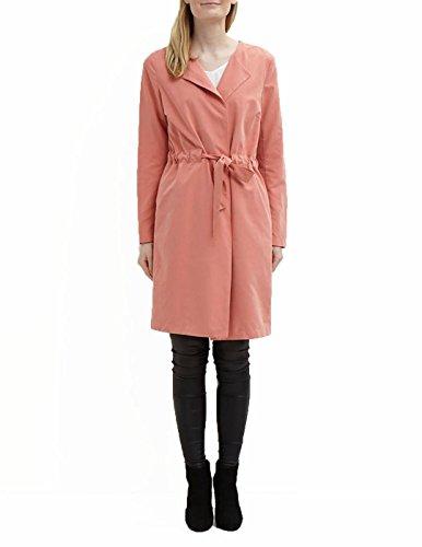 VILA CLOTHES Viwonderfull Coatigan Tb, Giubbotto Donna, Rosa (Brick Dust), 40 (Taglia Produttore: Large)