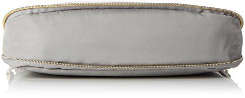 Bogner Damen Mediumshoulder Umhängetasche, 5x22x27 cm Silber (mercury)