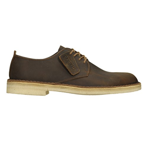 Clarks Originals Desert City London Herren Halbschuhe, Braun - Braun - Beeswax - Größe: 13 UK G/48 EU