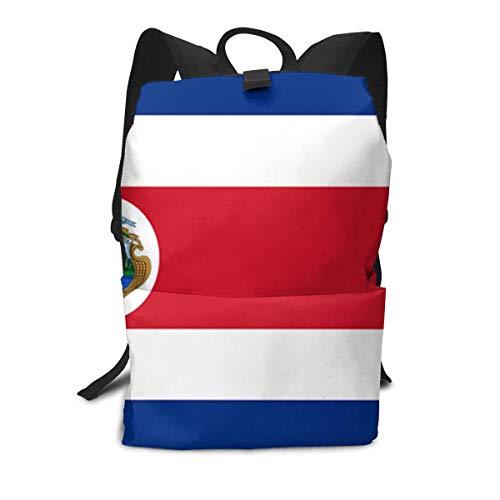 Flagge von Costa Rica-Zelluloid-Rucksack-Mitte für Kinderjugendliche-Schulreisetasche