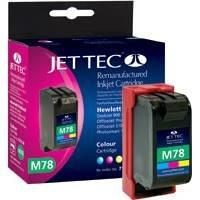 Jet Tec C6578DE HP HP78 color In England hergestellte Wiederaufbereitete Tintenpatrone Couleur