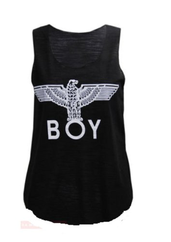 women-boy-london-eagle-print-top-t-shirt-cap-sleeve-ladies-boy-sweatshirt-and-boy-vest-top-uk-size-8