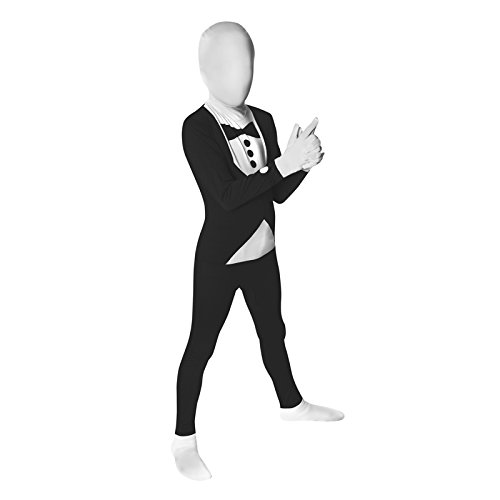 Costume Carnevale Halloween Morphsuit Smoking - Ufficiale - bambino