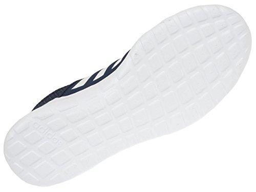 adidas Neo Lite Racer Noir BLC - Chaussures Running Mode Bleu