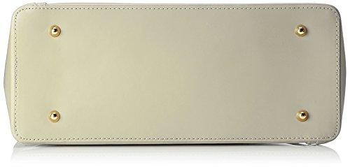 Chicca Borse 8610, Borsa a Spalla Donna, 40x38x14 cm (W x H x L) Beige