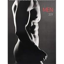Men 2019 - Männer - Bildkalender (42 x 56) - schwarz/weiß - Erotikkalender