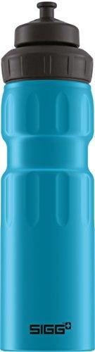 SIGG WMB Sports Blue Touch, Sport Trinkflasche, 0.75 L, Aluminium, BPA Frei, Blau