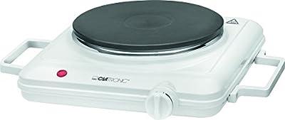 Clatronic Einzelkochplatte 3582, Weiß, 271698 von Clatronic - Outdoor Shop