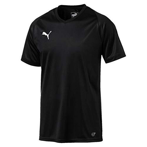 Erwachsenen-trikots (PUMA Herren Liga Core Trikot Puma Black-Puma White XS)