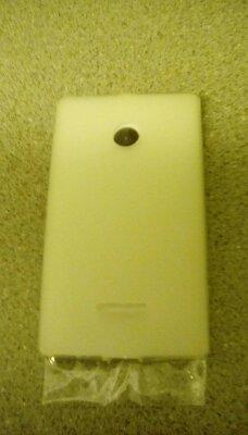 Pro-Tec Clip-On TPU Hülle Case Cover und Displayschutzfolie im Set für Nokia Lumia 435 - Transparent Matt