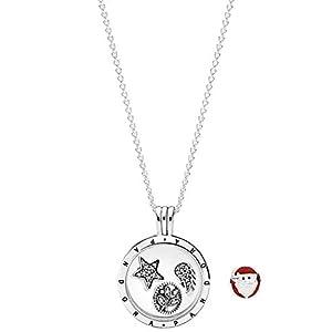 Pandora Medaillon mit himmlischen Elementen + Gratis Weihnachtsmann 08357-60