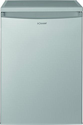 Bomann VS 2185 Kühlschrank/A++/84.5 cm/93 kWh/Jahr/137 L Kühlteil/stufenlose Temperatureinstellung/silber