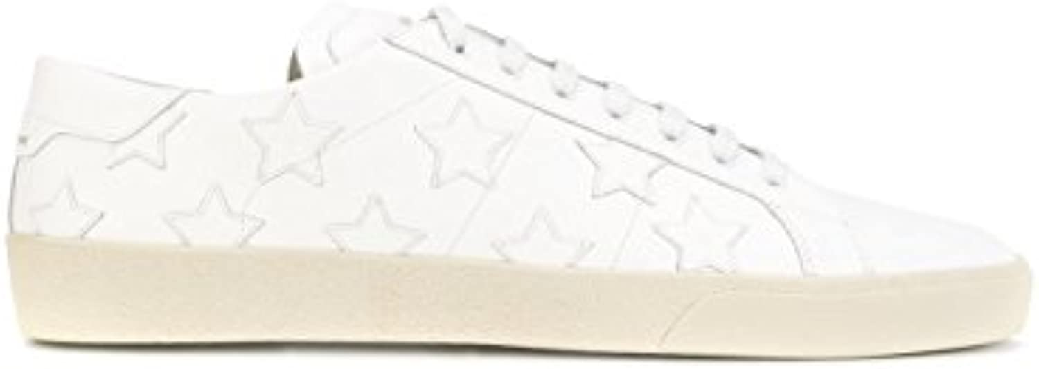 Saint Laurent Herren 4855850MP009030 Weiss Leder Sneakers