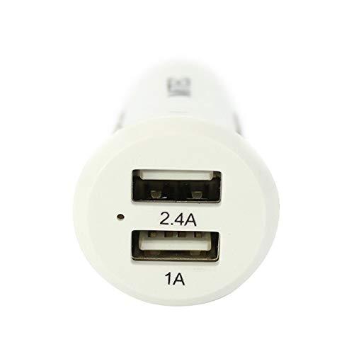 IQCases - Caricabatteria da Auto con Micro USB e Doppia Porta 2,4 A, per Nokia 3310 105 130 3G (2017)