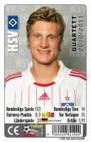 Hamburger SV Quartett 2010/2011 Fix10 -
