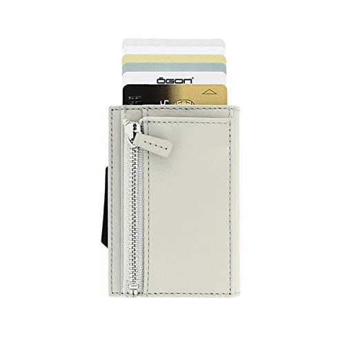 4b9b30e6a7 Ögon Cascade Wallet Valigetta per carte di credito Custodia RFID in pelle  italiana e Alumimum Blaster