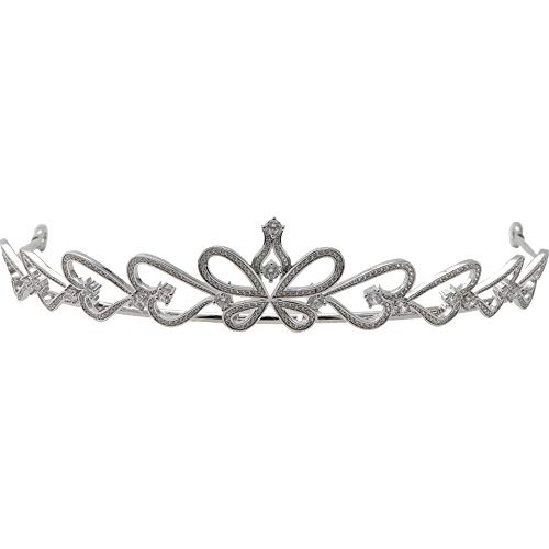 muck Krone Tiara Braut Hochzeit koreanische Prinzessin süße einfache Atmosphäre Hochzeit kurzen Haar weißen Garn Schmuck ()