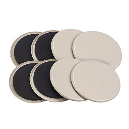 Altsommer Furniture Sliders Kit, 3.5/5 / 7inch Wieder Verwendbare Schwere Möbel Ovale für Teppiche Bewegen Sie Schnell und Einfach Jedes Objekt für Gleitscheiben zum Bewegen von Möbeln - 8PC -