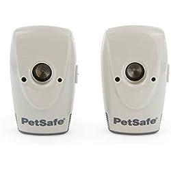 PetSafe - Système Anti-aboiement pour Chien à Ultrasons, Dispositif d'Education Sans collier, 8 m de portée - Usage en Intérieur (lot de 2)