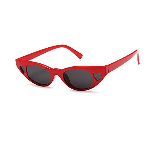 SHIYID Neue Frauen-Sonnenbrille-Herz-Geformte Sonnenbrille-Luxusart- Und Weisesonnenbrille-Frau Eyewear