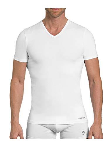 OTTO KERN 88821051 V-Shirt 5er Pack weiß 5 (V-neck Kern)