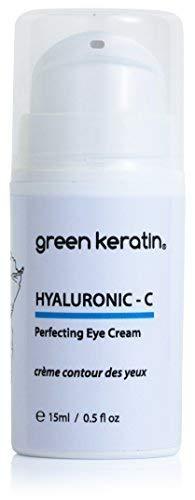 Green Keratin Hyaluron - C Augencreme / Hyaluronsäure und Vitamin C Augencreme