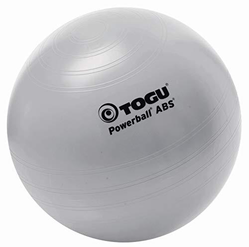Togu Gymnastikball Powerball ABS (Berstsicher), silber, 35 cm